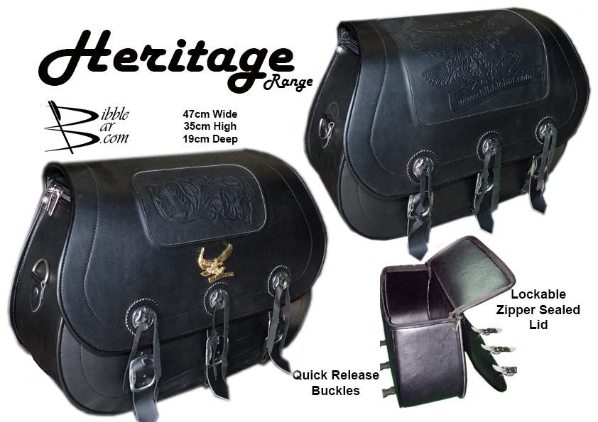 Saddle Bags - Heritage Range